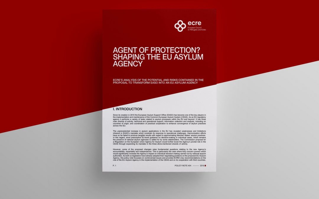 Policy Note: Agent of protection? Shaping the EU Asylum agency
