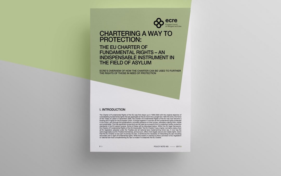 Policy Note: Chartering a way to protection – The EU Charter of Fundamental Rights – An indispensable instrument in the field of Asylum