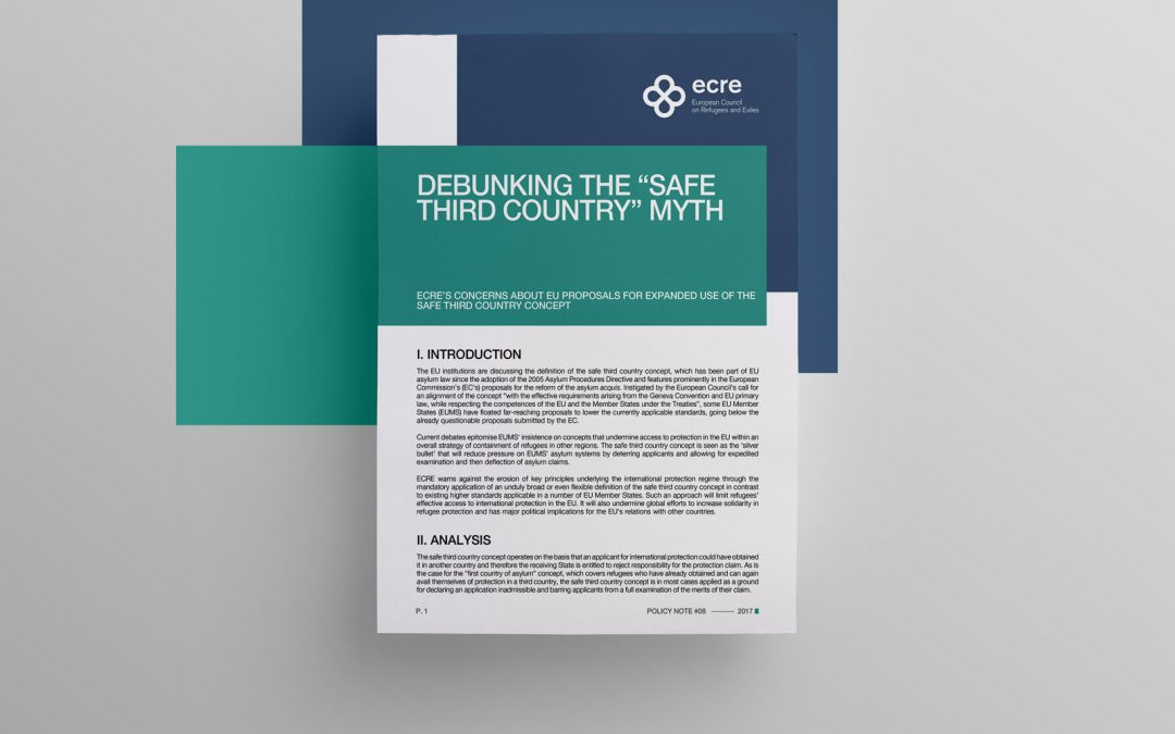 """Policy Note: Debunking The """"Safe Third Country"""" Myth"""
