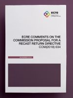 ECRE Comments on the Commission Proposal for a recast Return Directive
