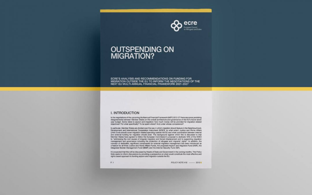 ECRE Policy Note: Outspending on migration?